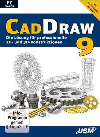 CAD Draw 9 - Das leistungsstarke CAD-Programm für 2D- und 3D-Konstruktionen (CD-ROM)
