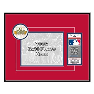 MLB St. Louis Cardinals 2011 World Series Your 8x10 Photo Ticket Frame by That