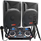 2000 Watts! - Complete DJ System - Everything you need to DJ - 12\