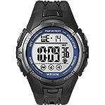 Timex Men's T5K359M6 Marathon Digital Display Quartz Black Watch
