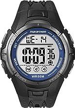 Timex Marathon Resin Strap Watch Black - T5K3594E