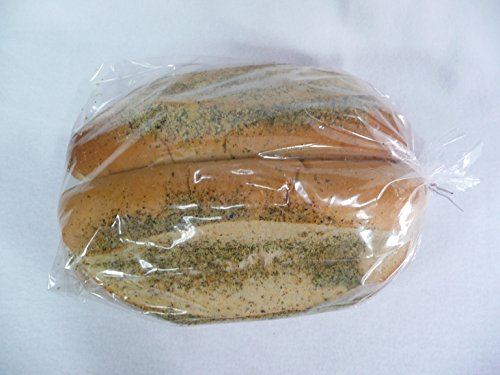 Bread Loaf Bags Heavy 2 Mil Plastic with Twisty Ties--keep Food Fresh (Thick Bread Bags compare prices)