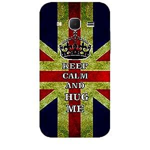 Skin4gadgets Keep Calm and HUG ME - Colour - Uk Flag Phone Skin for SAMSUNG GALAXY CORE PRIME ( G3608)