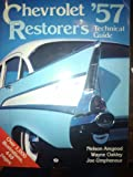 img - for Chevrolet '57 restorer's technical guide book / textbook / text book