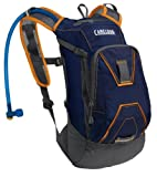 Camelbak Mini M.U.L.E. 50 Oz Hydration Pack, Estate Blue/Dark Cheddar