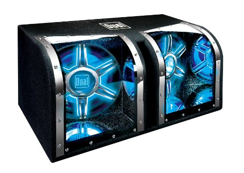 Dual Bp1204 12-Inch 1100-Watt Illumination Bandpass Subwoofer