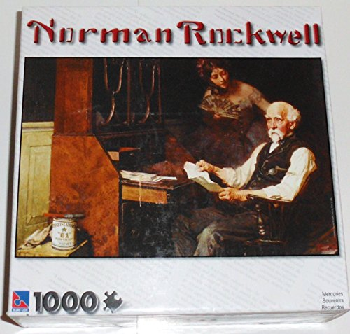 "Norman Rockwell ""Memories"" 1000 Piece Puzzle"