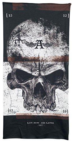 Alchemy England Demons Birth Sciarpa ad anello grigio/nero/rosso