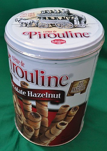 Pirouline Rolled Wafers Chocolate Hazelnut -