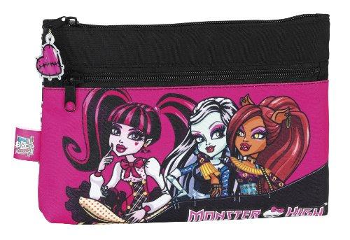 Monster High Federtasche Monster High Schlamperrolle Kosmetiktasche Draculaura