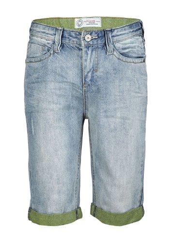 s.Oliver Jungen Jeans 61.404.72.2311, Einfarbig, Gr. 176 (Herstellergröße: 176/Regular), Blau (blue denim non stretch)