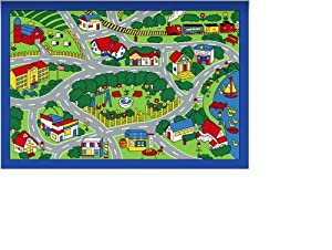 City Map Children Area Rug 39