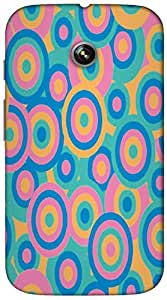 Timpax protective Armor Hard Bumper Back Case Cover. Multicolor printed on 3 Dimensional case with latest & finest graphic design art. Compatible with only Motorola Moto - E-1st Gen. Design No :TDZ-21523