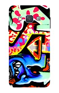 Accedere Printed Back Cover Case for Samsung Galaxy A3 (2016) edition