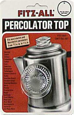 Read About Fitz-All Replacement Percolator Top, Small