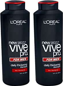 buy l oreal vive pro for daily thickening shoo pack of 2 at low prices in buy l oreal vive pro for daily thickening shoo pack of 2 at low prices in