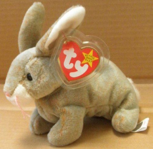 TY Beanie Babies Nibbly the Rabbit Plush Toy Stuffed Animal