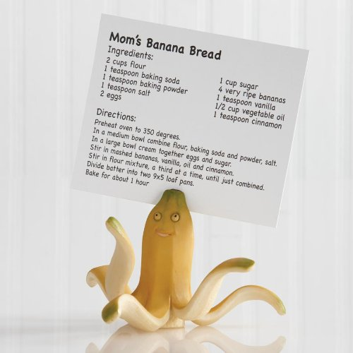 1 X Banana Octopus Recipe Card Holder by Home Grown (Recipe Cards Lot compare prices)