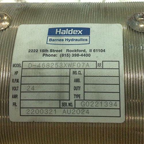 Barnes Hydraulic 24V Electric Pump Motor