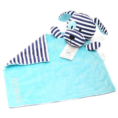 Bella Tunno Faith Dog Poetic Plush Lovey Blanket