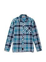 Hot Tuna Camisa Hombre Origin (Turquesa / Azul)