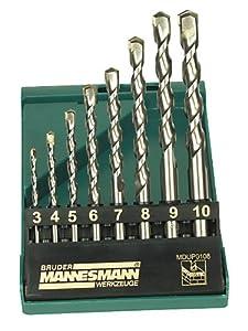 Mannesmann M54309 Profi Steinbohrersatz 8-teilig