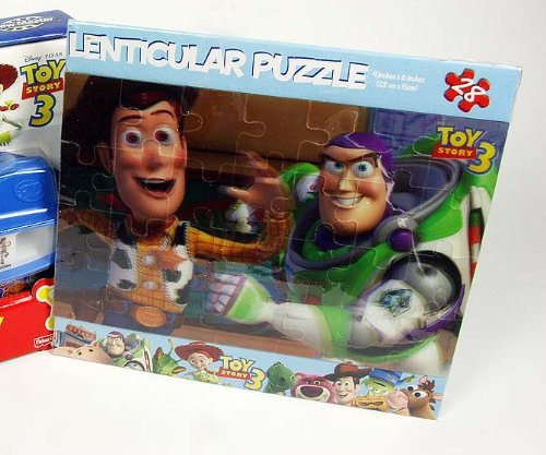 Toy Story 3 - 3D Puzzle - Lenticular- Buzz & Gang - No Glasses Needed - 1