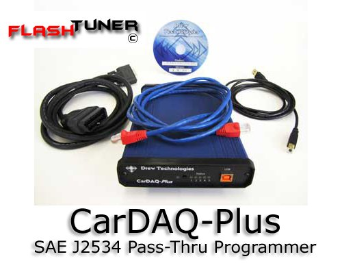 CarDAQ-Plus - PassThru J2534 Vehicle Reflash Hardware