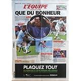 EQUIPE (L') [No 20863] du 26/08/2011 - LA FOLIE PARIS- BREST - PARIS - RUGBY AVANT LA COUPE DU MONDE - ATHLETISME...