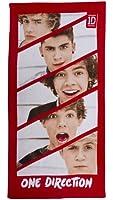 Character World One Direction Boyfriend Drap de bain 70cm x 140cm 100% Cotton (Import Grande Bretagne)