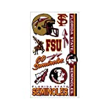 NCAA Florida State Seminoles (FSU) Temporary Tattoos -- at Amazon.com
