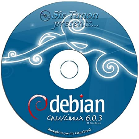 Debian 6.0.4 Full DVD Disc [32 BIT DVD] - Latest Version Squeeze