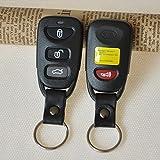 HuaYang 3+1 Button Case Shell For HYUNDAI Elantra Sonata i10 Remote Key