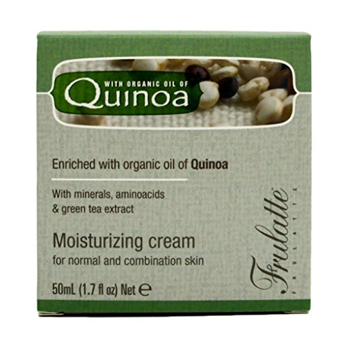 Quinoa Moisturizing Cream By Frulatte for Normal to Combo Skin, Enriched with Quinoa Oil (1.7 Fluid Ounce) (Quinoa Extract compare prices)