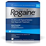Men's Rogaine Solution, Three Month Supply