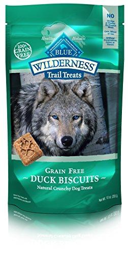 Blue Buffalo Dog Treats, Duck & Chicken Biscuits,10 oz
