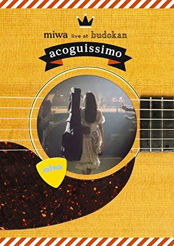 miwa live at 武道館~acoguissimo~(初回生産限定盤) [Blu-ray]