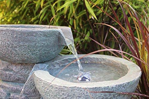 springbrunnen cascades mit led beleuchtung gartenbrunnen zimmerbrunnen wir machen. Black Bedroom Furniture Sets. Home Design Ideas