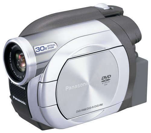 Panasonic VDR-D100 DVD Camcorder with 30x Optical Zoom