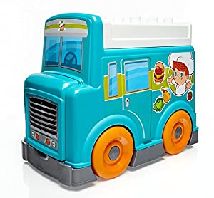 Mega Bloks First Builders Food Truck Kitchen Building Set