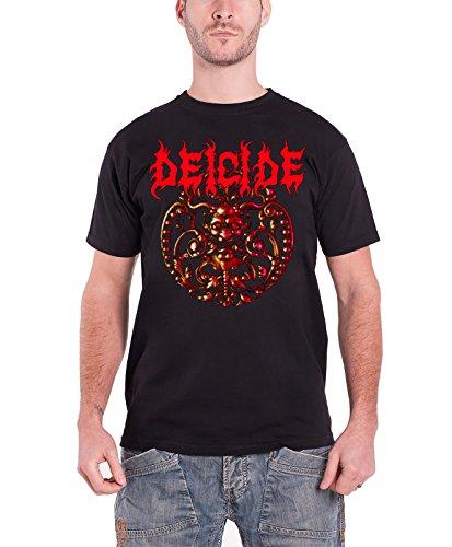 Deicide - Top - Maniche corte  - Uomo nero Large