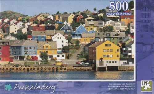 Puzzlebug 500 Piece Puzzle ~ Kristiansund, Norway - 1