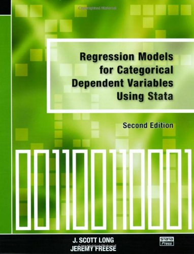Regression Models for Categorical Dependent Variables...