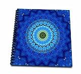 Houk Digital Abstraction Art Fancy Kaleidoscopes Kids Painting Star Mandala Memory Book 12 X 12 Inch (Db 42238 2)