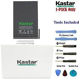 Kastar iPad Mini1 Battery Replacement Internal Battery iPad Mini1 (1st Generation iPad Mini) Fixes for Apple 616-0627, 616-0633, 616-0688 and Apple A1432, A1445, A1454, Apple iPad Mini, iPad mini Retina, iPad Mini Wifi, MF432LL/A, MD510LL/A, MD512LL/A, MD