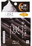 3 Pack COW BRAND SOAP ?Japan-Natural Charcoal Face Cleansing Soap with Net 80g