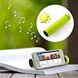 NEW 3 IN 1 External Power Bank Battery + Speaker + Stand (Green) FOR:APPLE iPhone 3 3G 4 4S 5 5S 5C 6 6+ APPLE iPad 2 3 4 /iPad Air/iPad Mini, Samsung Galaxy I II III IV Note 1 2 3,Samsung Galaxy Tab / Galaxy Note,Various Smartphones, PC Tablets, PSP dev