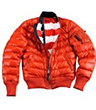 Alpha Industries MA-1 DN Wmn Veste d'hiver Red, Re