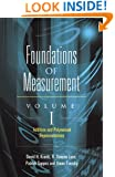 Foundations of Measurement Volume I: Additive and Polynomial Representations (Dover Books on Mathematics)