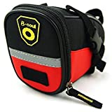 Sponeed Cycling Bicycle Bike Saddle Seat Bag Tail Bags Rear Pouch MTB Cycling Accessories Red